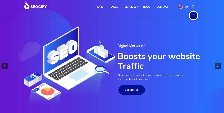 Seocify best wordpress themes seo agencies