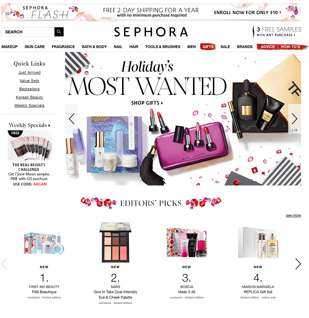 Sephora holiday homepage.png