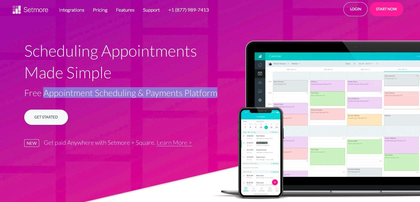 Setmore free scheduling app-1