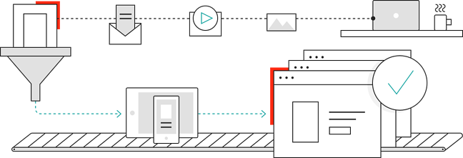SiteCore Experience Manager illustration depicts the architecture of this headless CMS