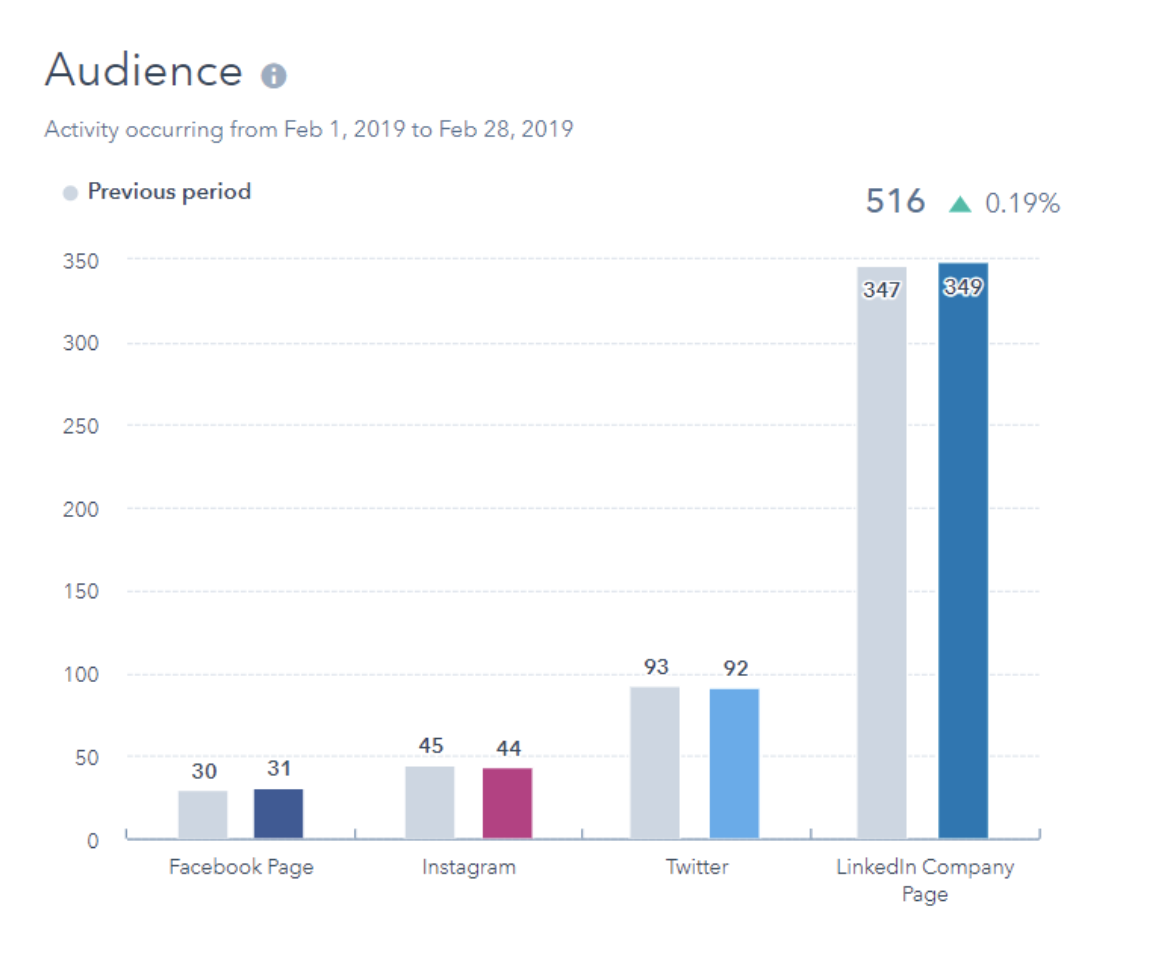 audience social media analytics report