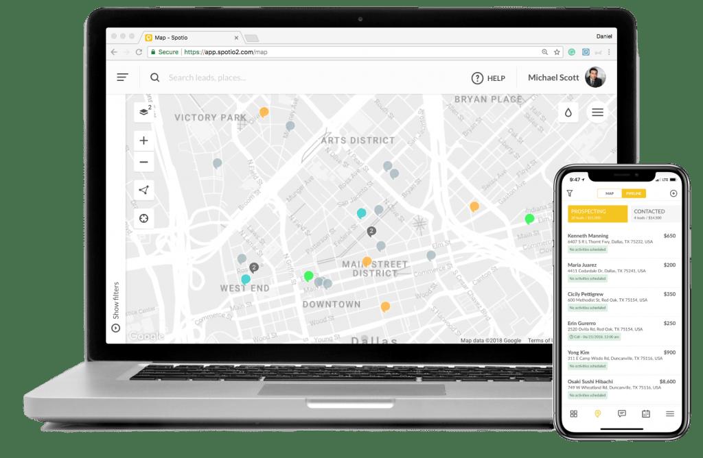 Spotio-sales-app