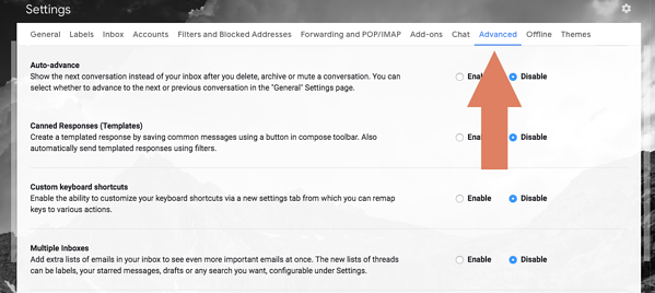Setting up multiple Gmail inboxes