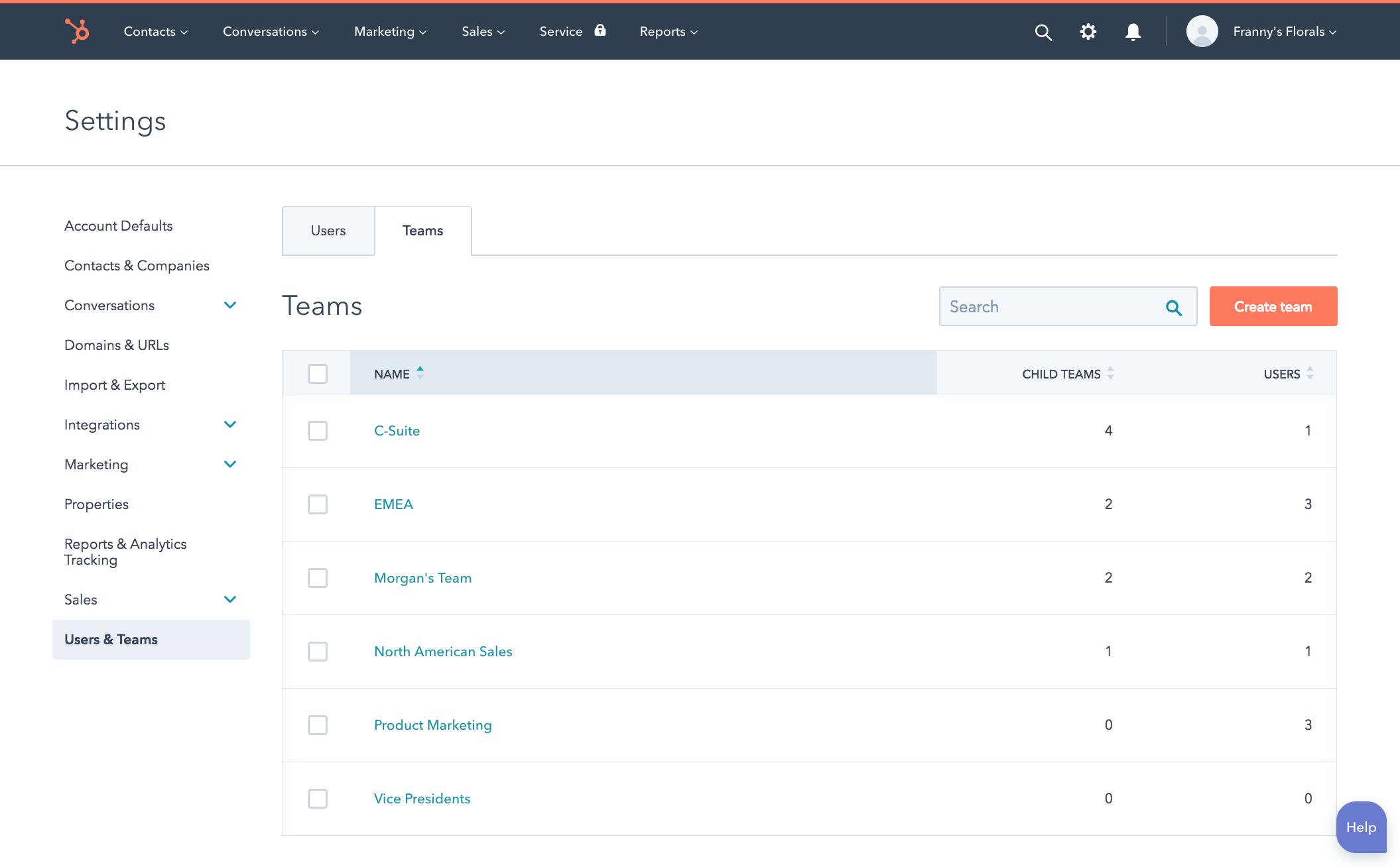 Teams Screenshot
