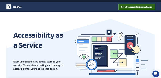 Tenon is an API-first automated accessibility testing tool