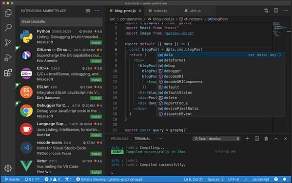 Searching text in Visual Studio Code, one of the best CSS editors