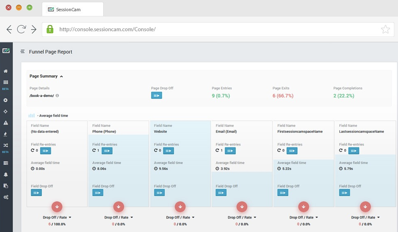sessioncam-form-analytics-tool