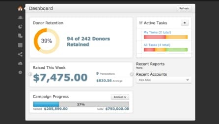Bloomerang Contact Management Software Solutions for Nonprofits