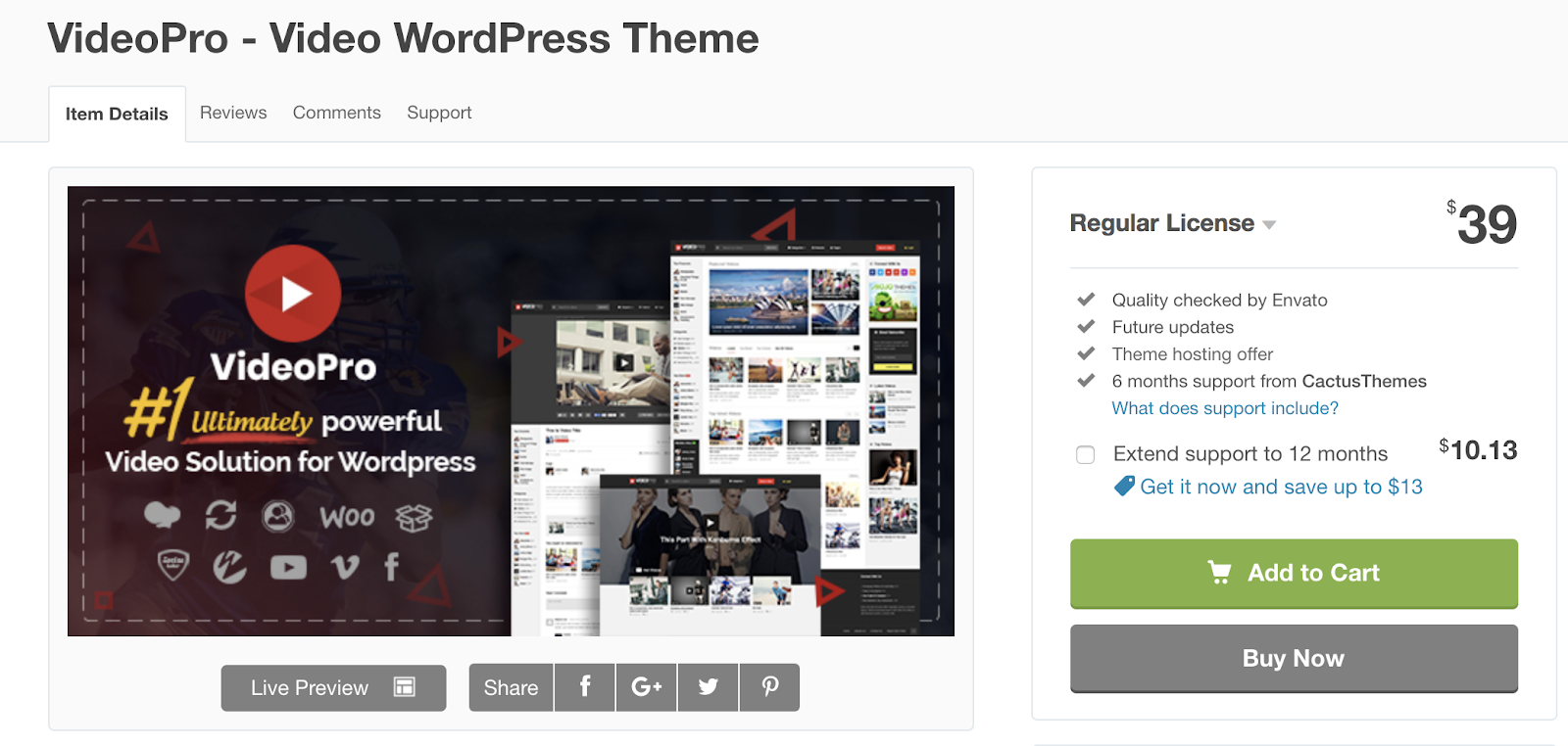 videopro-wordpress-theme
