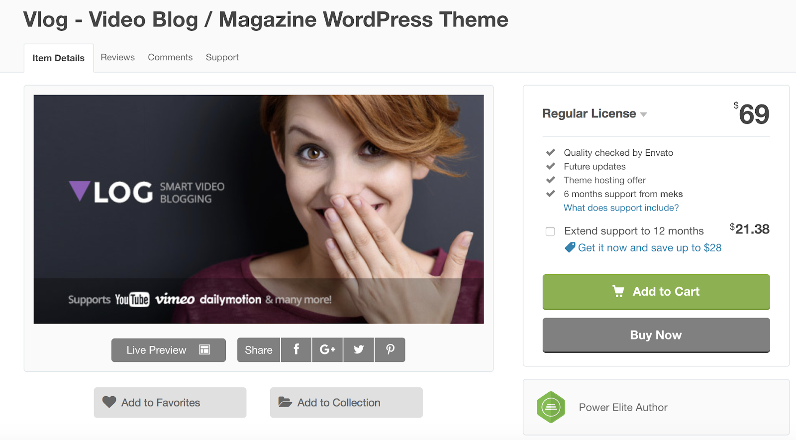 vlog-wordpress-theme