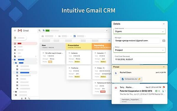 NetHunt CRM Gmail