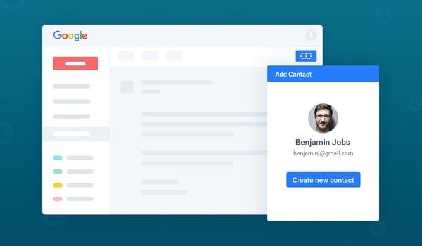 Salesmate CRM Gmail