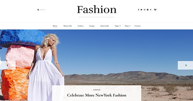 Blossom Fashion free WordPress blogging theme