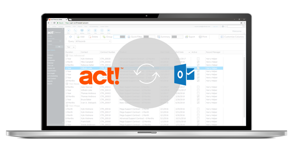 Act! CRM Microsoft Outlook Integration