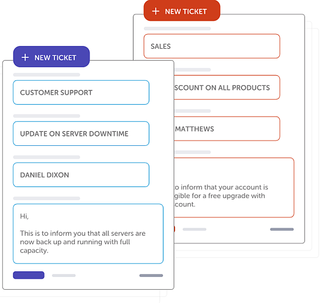 Support ticketing tool by HappyFox