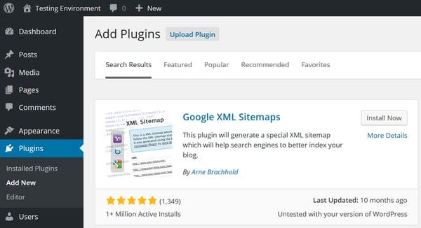 Google XML sitemaps plugin is important SEO tool in WordPress cms