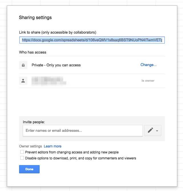 google-sheets-sharing-settings
