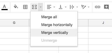 google-sheets-merge-cells