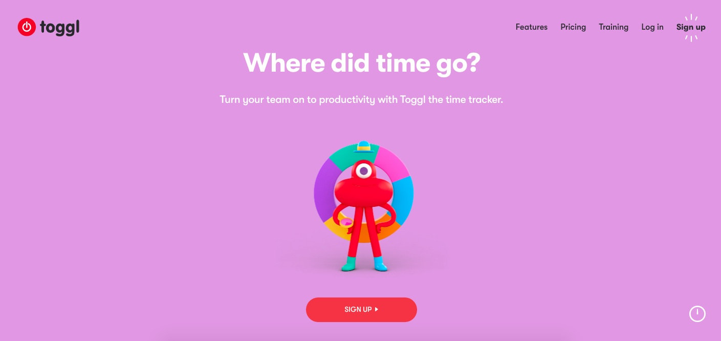 Toggl Productivity Software