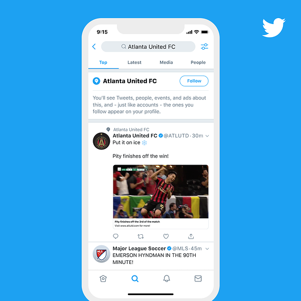 How to unfollow Twitter Topics directly from Twitter feeds