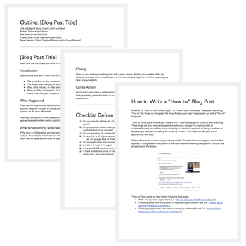 blog post templates hubspot