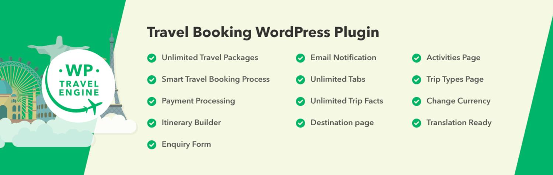 WP Travel Engine plugin to create travel business site using WordPress
