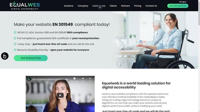 EqualWeb web accessibility tool