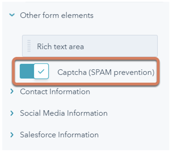 captchas-in-hubspot