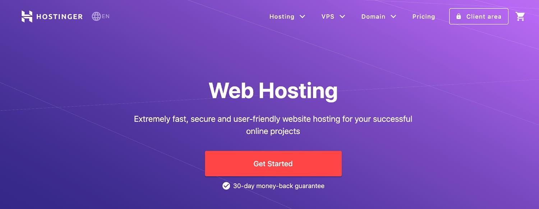 hostinger web hosting service