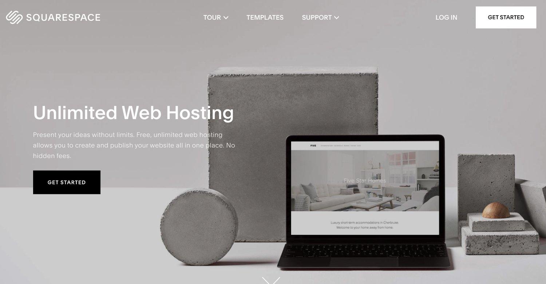 squarespace web hosting service