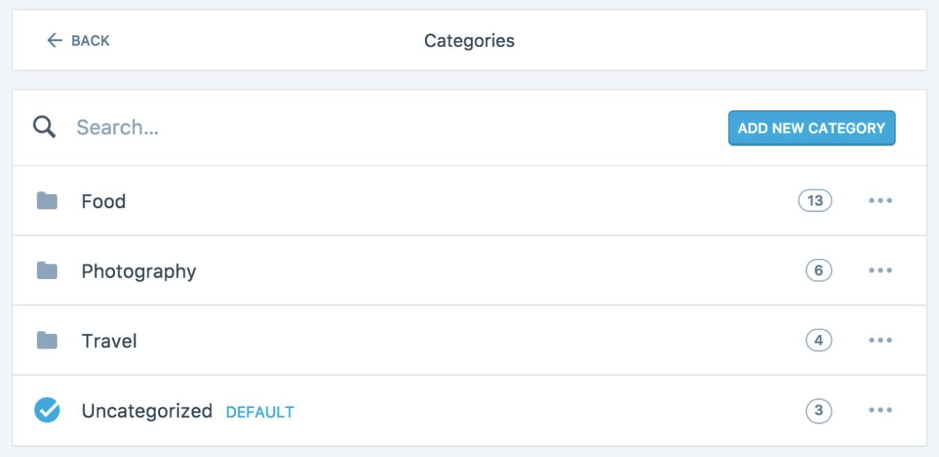 wordpress-categories