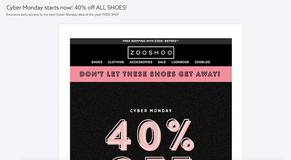 ZOOSHOO_email_example__Cyber_Monday_starts_now__40__off_ALL_SHOES_.png