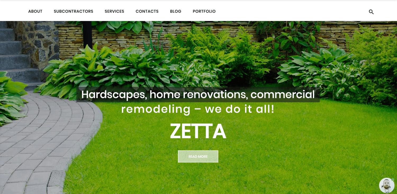 Zetta bootstrap WordPress theme TemplateMonster