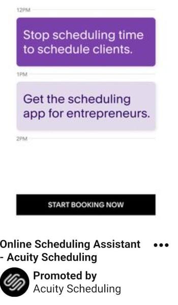 Focus planning pinterest ad