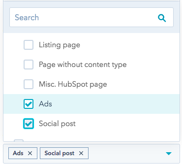 ads and social