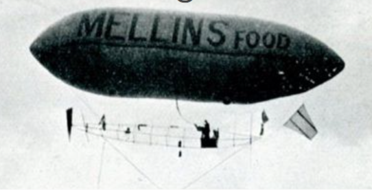 advertising history mellins airship