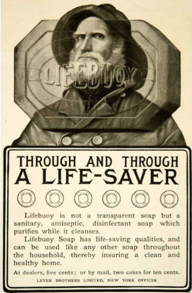 advertising history unilever lifebuoy soap
