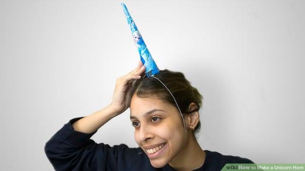 25 last minute diy halloween costume ideas for tech geeks marketers aid2617087 v4 900px make a unicorn horn step solutioingenieria Choice Image