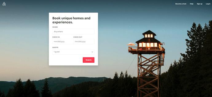 airbnb-homepage-web-design