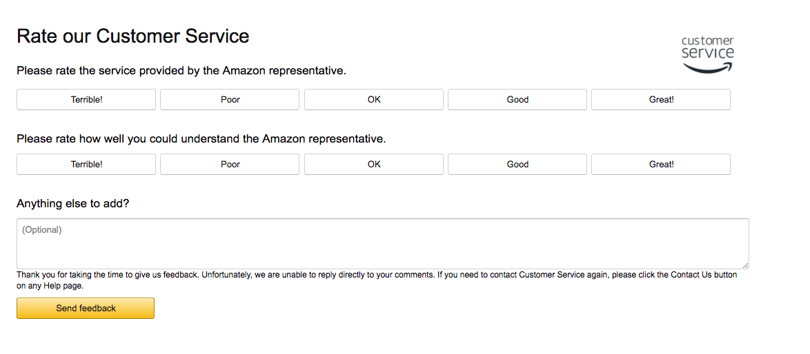 amazon-customer-satisfaction-survey