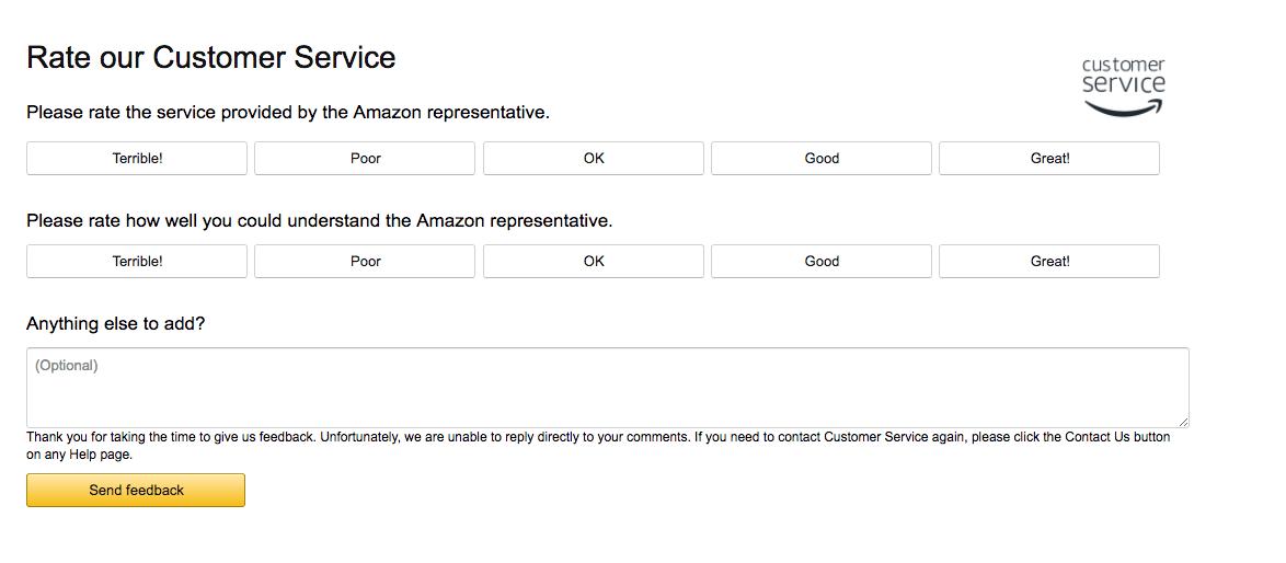 amazon-customer-satisfaction-survey
