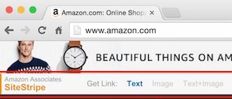 amazon sitestripe