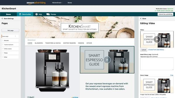 Kitchen Smart Amazon Store with the best products.