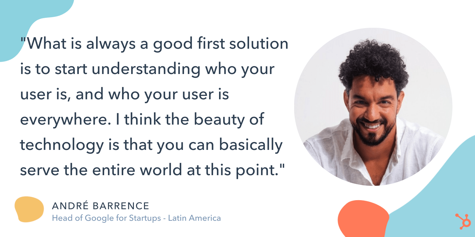 andre quote on how to globalize your marketing efforts
