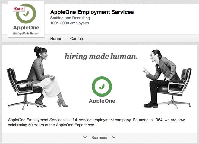 appleone-linkedin-page.png