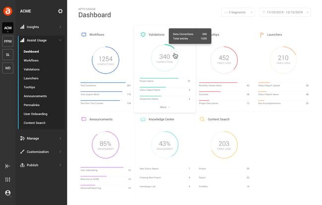 Customer onboarding software by Apty