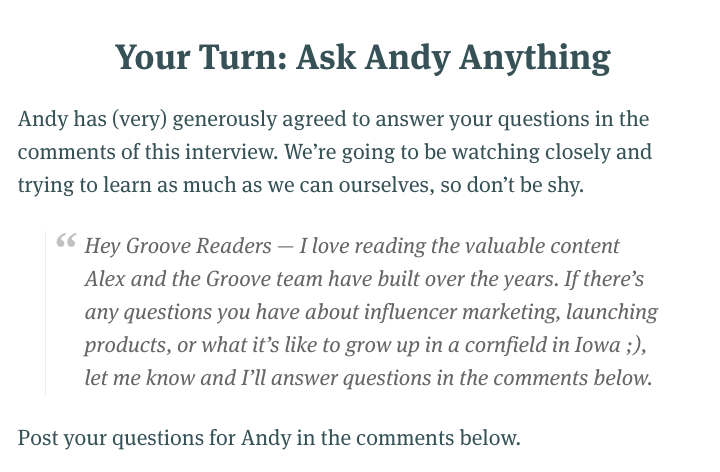 ask_andy_anything.png  15 Creative Lead Generation Ideas to Try ask andy anything
