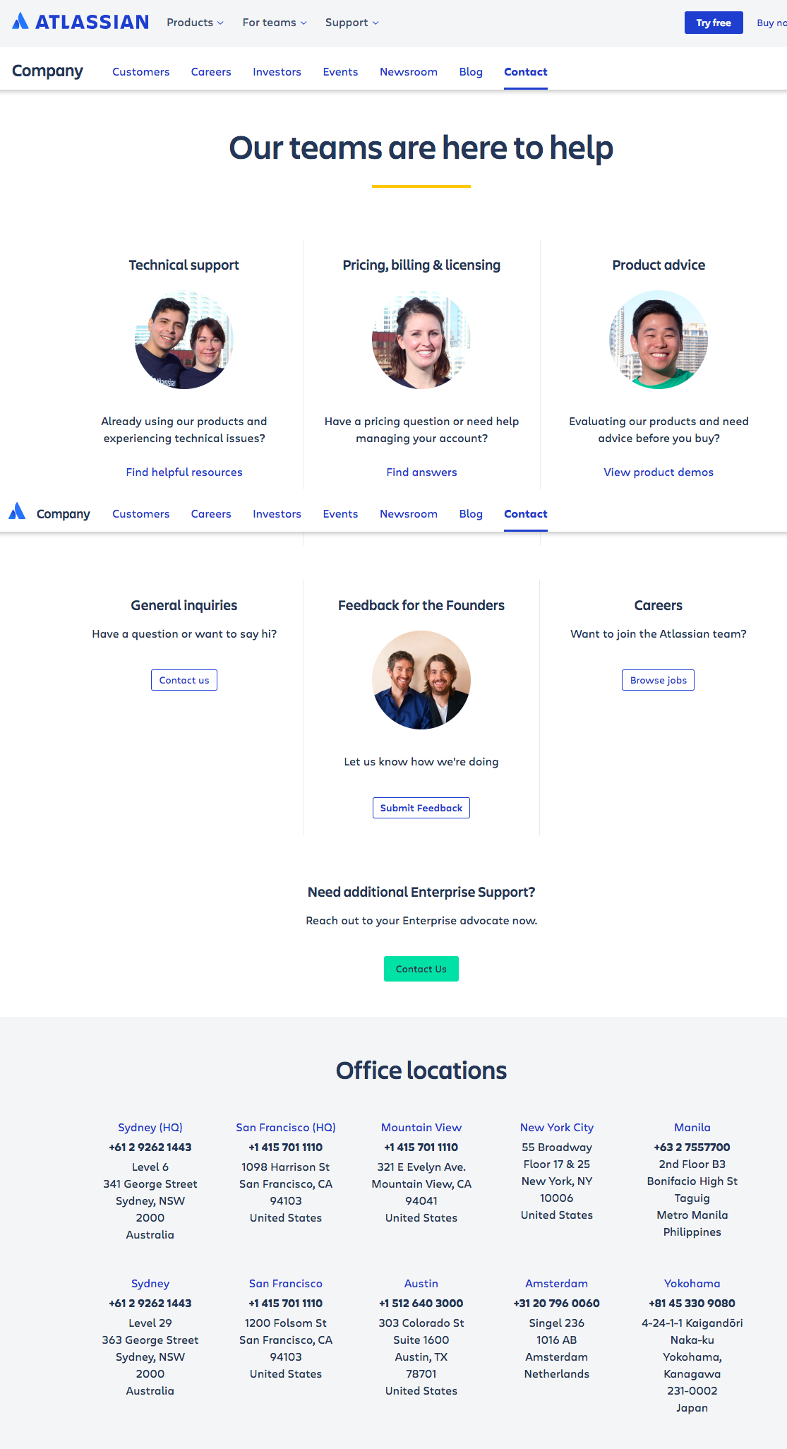 atlassian contact us