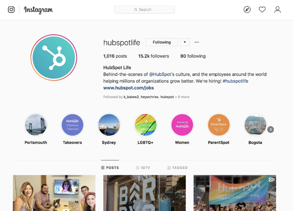 b2b-marketing-social-media-employee-engagement-hubspot-life-instagram