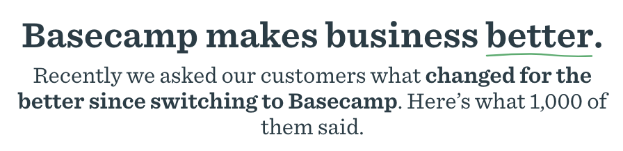basecamp-copywriting-example.png  What Makes Good Copywriting? 6 Characteristics of Top-Notch Copy basecamp copywriting example